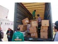 Keşanlıların deprem bölgesine yardımları yola çıktı