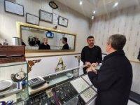 Başkan Tahmazoğlu esnaf ziyaretlerine devam ediyor