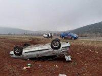 Hastaneye giderken kaza yaptılar: 5 yaralı