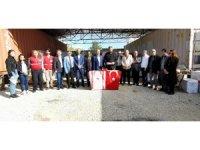 KKTC'den Elazığ'daki depremzedelere yardım sürüyor