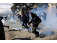 """Batı Şeria'da """"Yüzyılın Anlaşması"""" protesto edildi"""