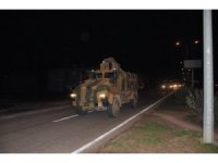 Suriye'ye mühimmat ve askeri araç takviyesi
