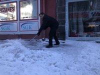 Kars'ta tipide mahsur kalan hasta kurtarıldı