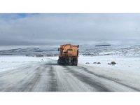 Kars'ta tipiden 181 köy yolu ulaşıma kapandı