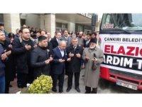 Çankırı Belediyesi'nden Elazığ ve Malatya'ya destek