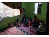 8 kişilik ailenin harabe evde yaşam mücadelesi