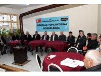 Vali Taşbilek'in mahalle buluşmaları devam ediyor