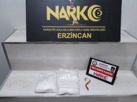 Erzincan'da uyuşturucu operasyonunda 3 kişi tutuklandı