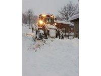 Gerze'de 20 köy yolu ulaşıma kapandı