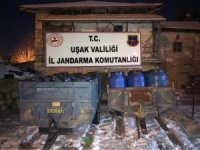 Uşak'ta 22 bin litre kaçak içki ele geçirildi