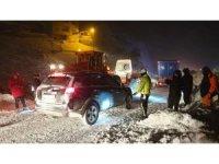 Çığdan zarar gören yolcu minibüsünün şoförü o anları anlattı