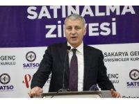 """SATSO Başkanı Akgün Altuğ: """"Üretime çok önem veriyoruz ve destekliyoruz"""""""