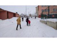 Bingöl'ün Karlıova ve Kigı ilçelerinde okullara kar tatili