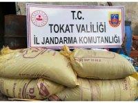 Tokat'ta sahte gübre satışına Jandarma engeli