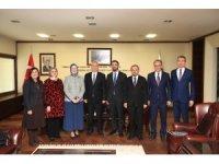 Cumhurbaşkanlığı Sağlık ve Gıda Politikaları Kurulu üyeleri Denizli'de