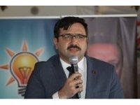 Çankırı'da AK Parti geçmiş dönem başkanlarına vefa yemeği