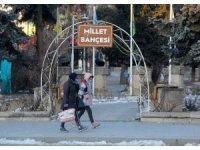 Erzincan'da soğuk hava hayatı olumsuz etkiliyor