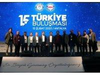 Uçak, Eğitim Bir-Sen 15. Türkiye Buluşmasına katıldı