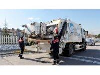Başiskele'de temizlik çalışmaları sürüyor