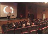 """Ahlat'ta """"Çocuğun Okul Başarısında Ailenin Rolü"""" konferansı"""