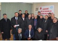 Hakkari'de 'Köy ve Mahalle Muhtarları Derneği' açıldı