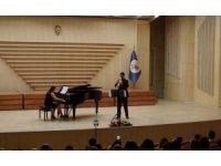 Mersinli genç sanatçı Çelik'ten trompet resitali