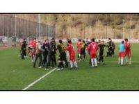 Sinop Erfelek'te oynanan maçın ardından olay çıktı