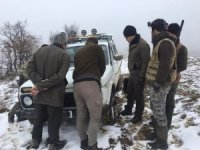 Bolu'da kaçak avcılara 3 bin 829 lira ceza kesildi