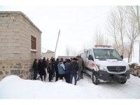 Başkale'de deprem sonrası hasar tespit çalışması