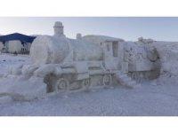 Kardan heykelini yaptıkları Doğu Ekspresi'nin Ardahan'a da gelmesini istiyorlar