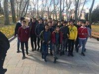 Hakkarili öğrenciler İstanbul gezisinden döndü