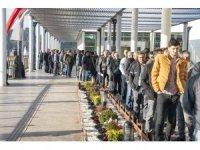 Büyükşehir Belediyesinin 184 şoför alımına 744 kişi başvurdu