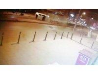 Bağdat Caddesi'nde otomobilin takla attığı kazanın yeni görüntüleri ortaya çıktı