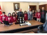 Develili öğrenciler Okullar Arası Satranç Turnuvası'nda derece aldı