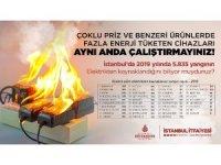 İstanbul'da 5 bin 835 yangın elektrikten kaynaklandı