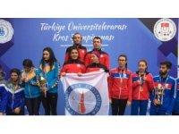 TÜSF Kros Türkiye Şampiyonası'na DPÜ damgası