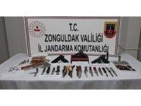 Zonguldak'ta silah kaçakçılığı operasyonu