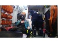 İzmir'de 11 katlı binada korkutan yangın: 10 kişi dumandan etkilendi
