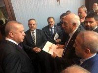 AK Parti'li Kartal Cumhurbaşkanı Erdoğan'la görüştü