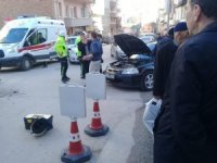 Bilecik'te yaşanan trafik kazasında 1 kişi yaralandı