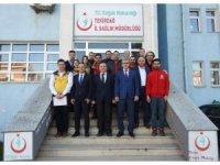Elazığ'daki depremzedelere ilk koşan UMKE ve 112'ye Teşekkür belgesi