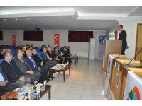 Şırnak'ta 'projenle değer kat' toplantısı yapıldı