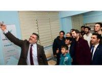 Rektör Çomaklı, Türkiye Gençlik Vakfı üyeleriyle buluştu