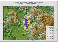 Manisa'da 28 günde 3 bin 774 deprem kaydedildi