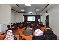 Gençlere motivasyon semineri verildi