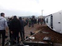 Midyat'ta trafik kazası: 2'si ağır 4 yaralı