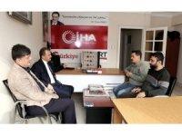 Başkan Kılınç'tan İHA'ya ziyaret