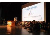 """BEÜ'de """"Ümmet olarak sorunlarımız ve sorumluluklarımız"""" konferansı"""