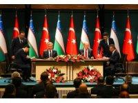 Erdoğan-Mirziyoyev ortak basın toplantısı