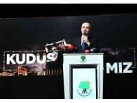 """AK Partili Kurtulmuş """"Kudüs Davamız"""" programına katıldı"""